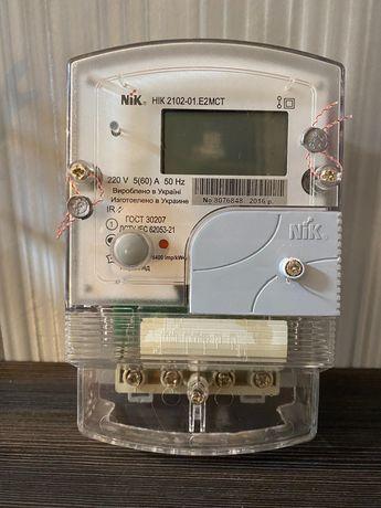 Счетчик электроэнергии двухзонный NIK 2102-01 Е2МСТ