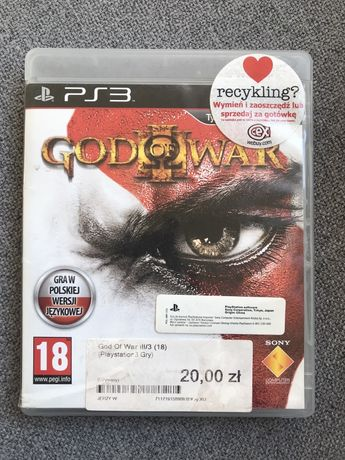 Gra God od War 3 PS3 po Polsku
