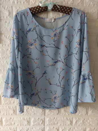 Блузка блуза блузон М