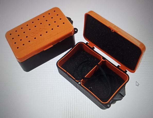 Pudełka na drobne akcesoria wędkarskie i muchy