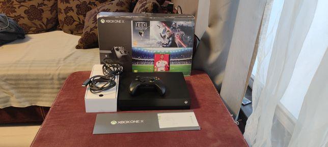 Xbox One X 1TB 4K HDR UHD gwarancja jak nowa idealny prezent polecam