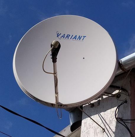 Спутниковая антенна .
