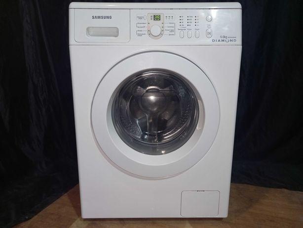 6 кг 1000 об стиральная машина Samsung DIAMOND. Доставка бесплатно!