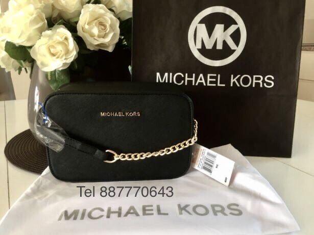 Idealny prezent Michael kors MK + GRATIS torebka damska czarna mała