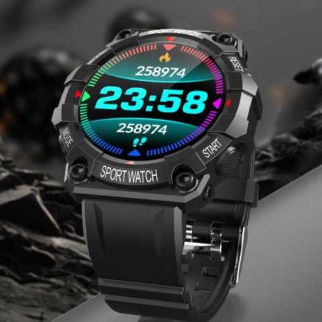 Smartwatch zegarek SPORTOWY polskie menu PULSYKSOMETR