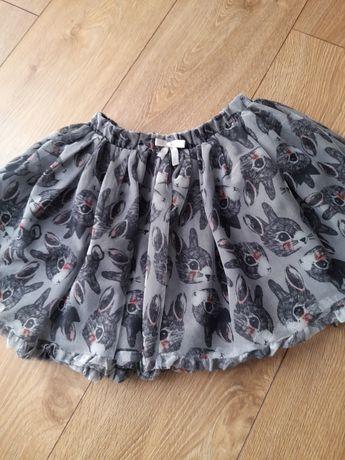 Piękna tiulowa spódniczka H&M 116 na Wielkanoc