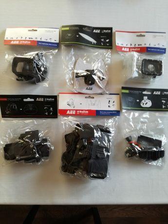 Akcesoria, mocowania do kamer AEE i GoPro, nowe, oryginalne - polecam