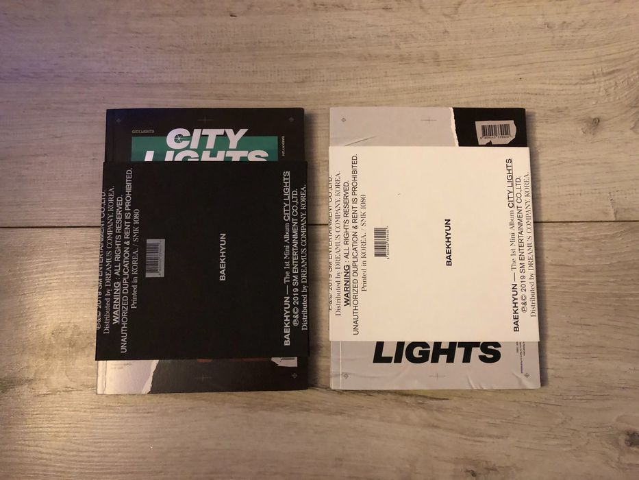 Album City Lights (Baekhyun EXO) Płońsk - image 1