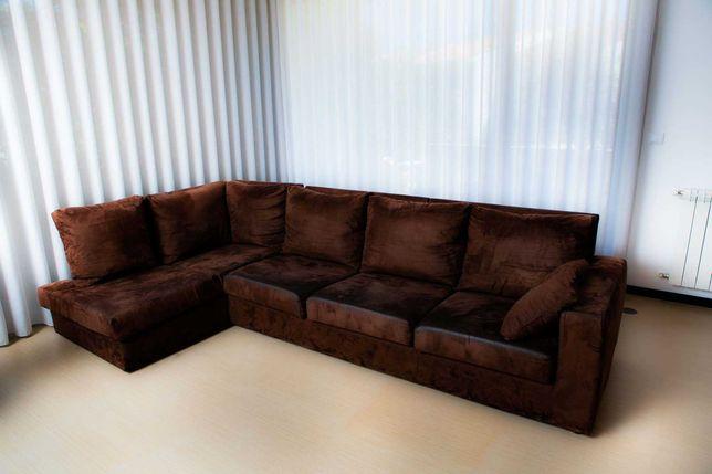 Sofá de canto ( com cama incorporada )