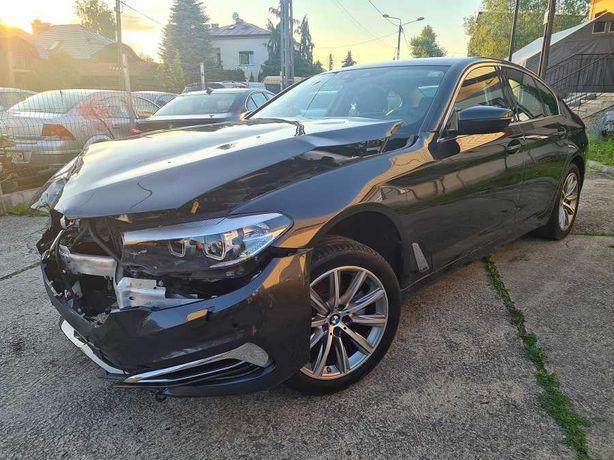 BMW 5 520d G30 Xdrive 190KM 2019 LUXURY Line 23% Salon PL 1 wł FV