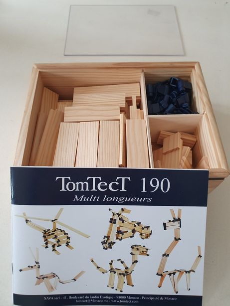 Jogo kit de construção da TomTect NOVO