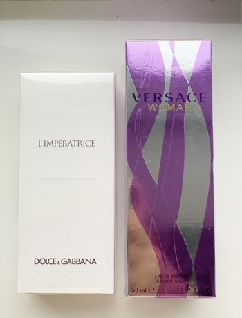 Парфуми (Духи) ОРИГІНАЛ Versace,Dolce&Gabbana,Calvin Klein