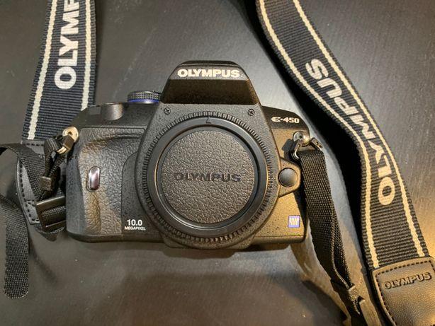 Olympus E-450 com Objetivas Olympus