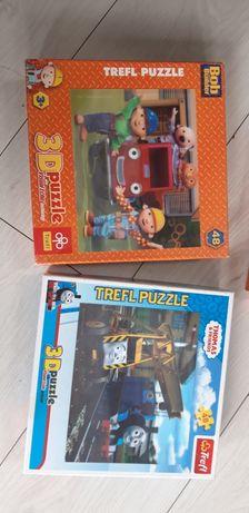 Puzzle 3D Tomek i przyjaciele Bob budowniczy