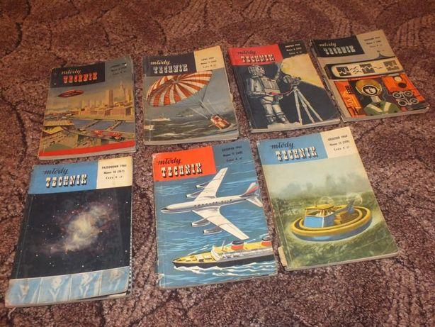 Czasopismo Młody Technik lata 1959-69
