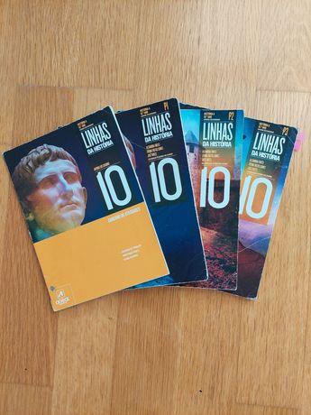 Manual de História Linhas da História 10