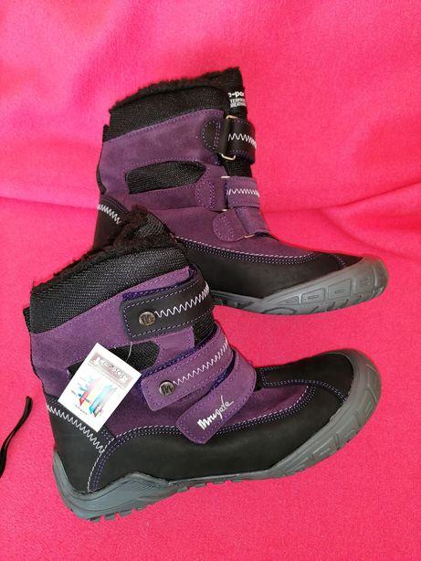 Nowe buty zimowe 37 Mrugała skóra naturalna