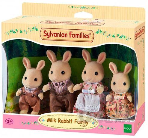 Sylvanian Families Семья молочных кроликов 4108