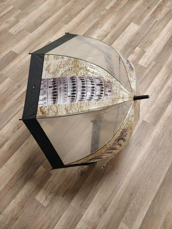 Зонт прозрачный трость
