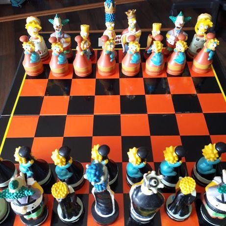 Jogo xadrez Simpsons oficial
