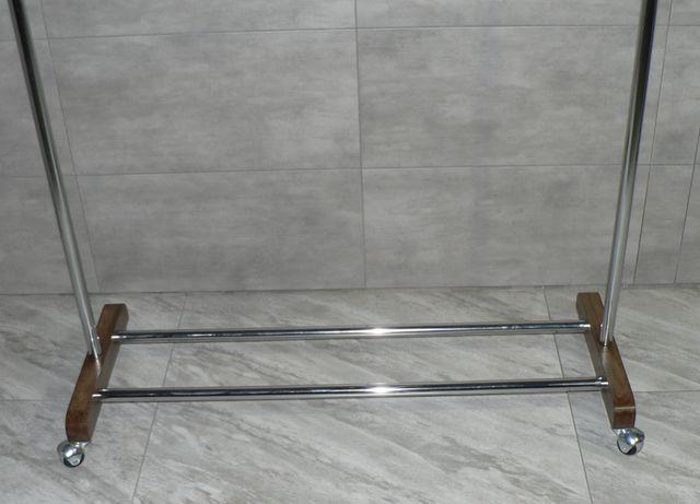 Напольная вешалка, стойка для одежды из дуба
