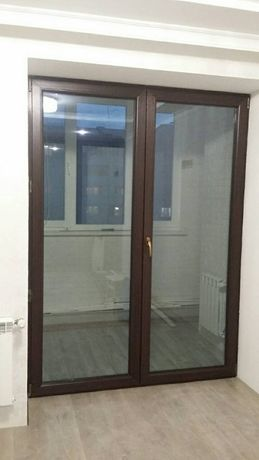 Вікна, металопластикові вікна Viknaroff і Gealan, пластикові двері