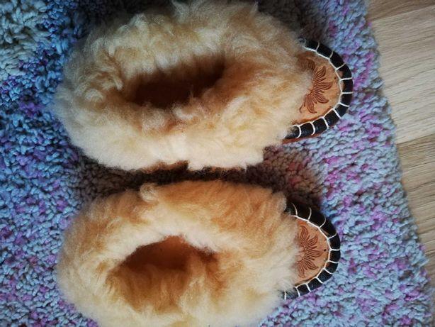 Pantofelki góralskie