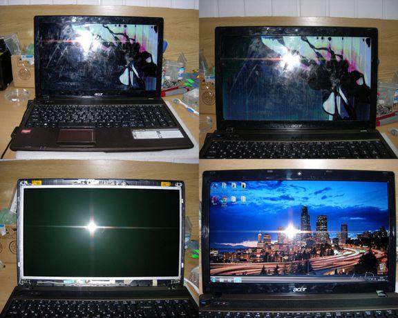 Замена матрицы экрана ноутбука
