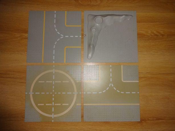Podstawa LEGO Lunar Base Plate - kratery i lądowisko