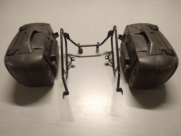 Stelaż i kufry boczne Hepco & Becker do Moto Guzzi
