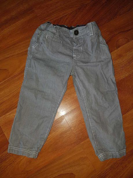Hm spodnie cienkie 80 regulowane w pasie