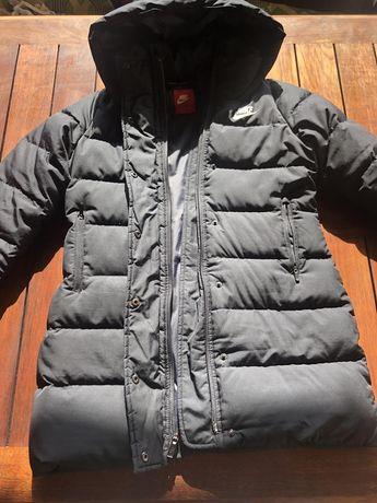 Зимняя куртка nike на девочку