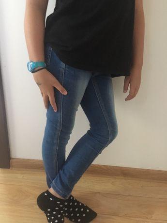 Zwykłe spodnie dżinsowe