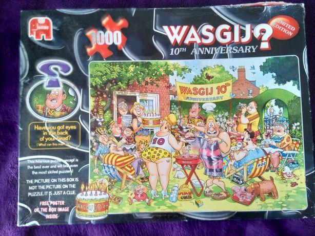 Puzzle Wasgij Original 1000 edycja limitowana 10 th Anniversary Jumbo