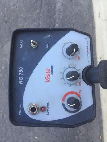 Продам металлоискатель VISTA RG750