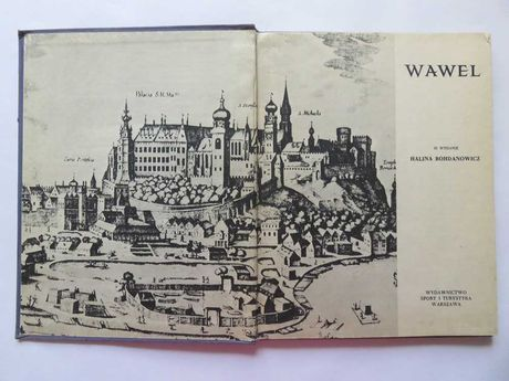 Bohdanowicz. Wawel - album fotograficzny. 72 czarno-białe fotografie.