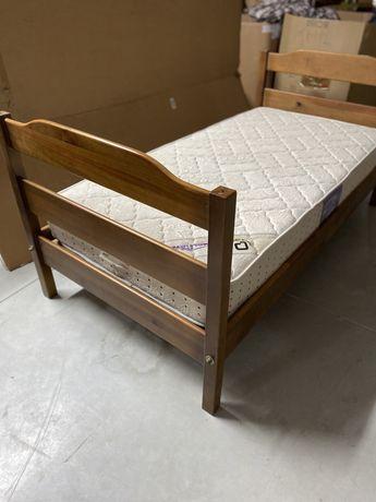Cama com colchão 90x190 cm