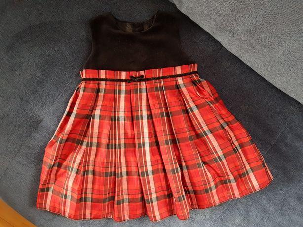 Sukienka dla dziewczynki 80-86