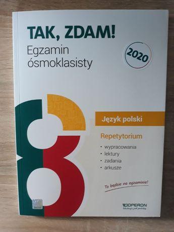 """Repetytorium """"Tak, zdam egzamin ósmoklasisty"""" - język polski"""