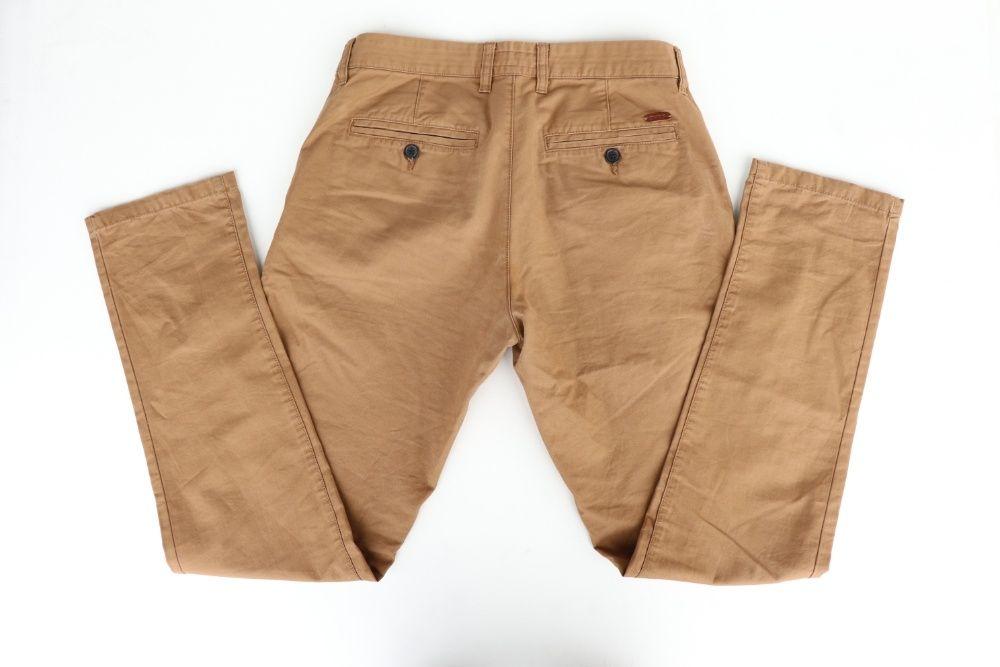 Męskie spodnie chinosy SMOG (New Yorker) r. 31 brązowe. Stan Idealny Węgierska Górka - image 1