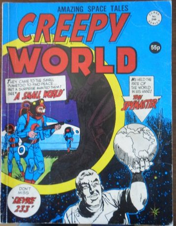 Creepy World # 246 [Alan Class Series] [inclui portes]