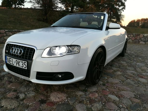 SPRZEDANA!!! Audi A4 b7 2.0t quattro cabrio