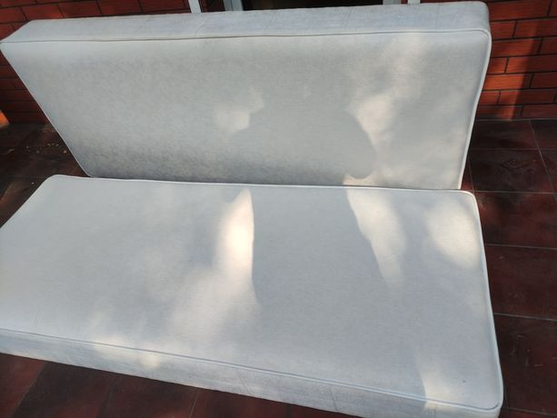Dwa materace sprężynowe 190x80