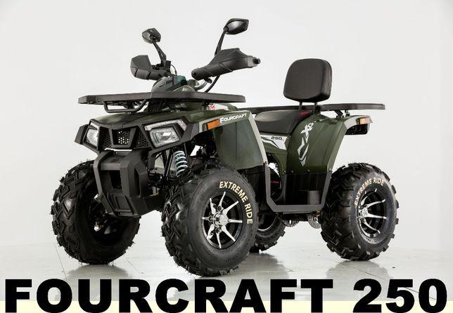 Quad ATV FOURCRAFT 250 Automat Transport Serwis Gwarancja Raty