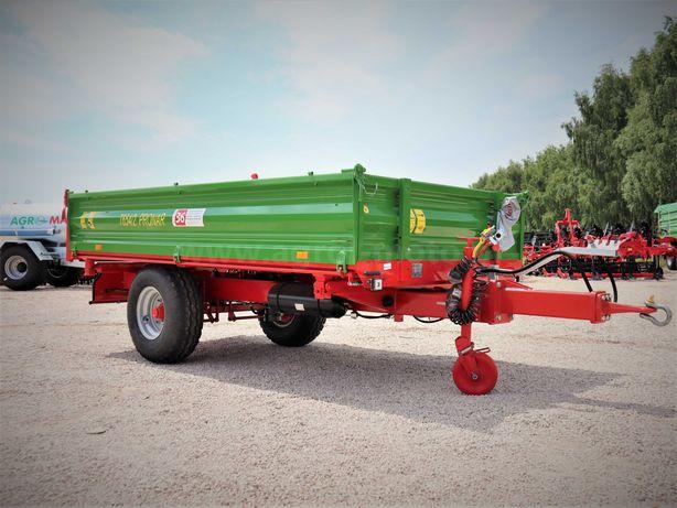Przyczepa jednoosiowa Pronar T654/2 transport do klienta