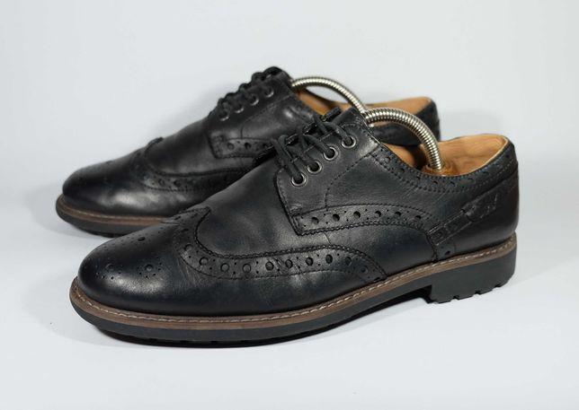 Туфли броги Clarks размер 43 / 27.5 см оригинал ecco кожа