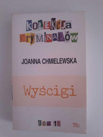 """Książka """"Wyścigi"""", J. Chmielewska"""