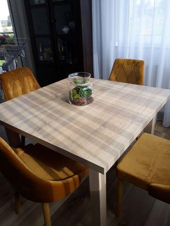 ŚWIETNY Stół 100x100 rozkładany