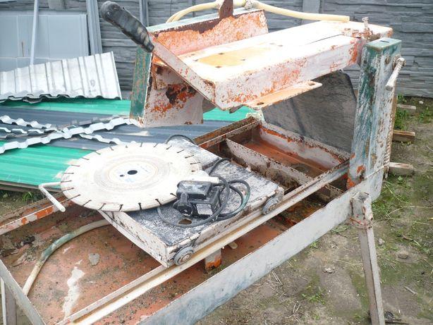 Piła stół do cięcia kostki brukowej cegły
