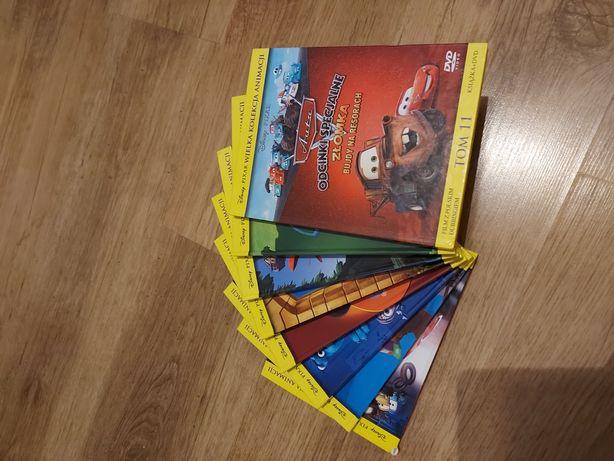 Kolekcja animacji 8 sztuk Disney Pixar
